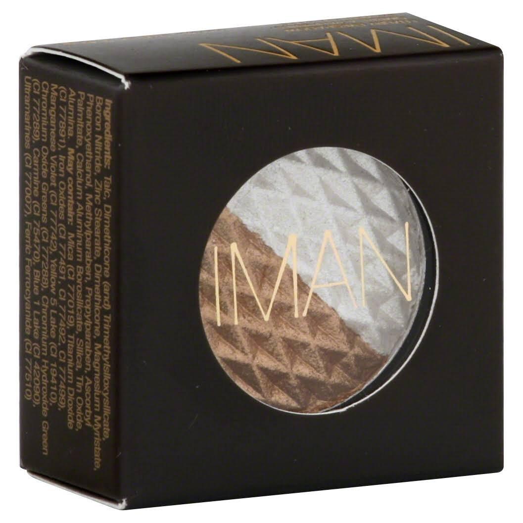 Iman Cosmetics Eye Shadow Duo -- Mixed Metals