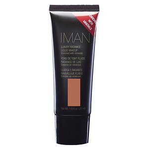 IMAN Luxury Radiance Liquid Makeup, Earth 4 1 fl oz (30 ml)