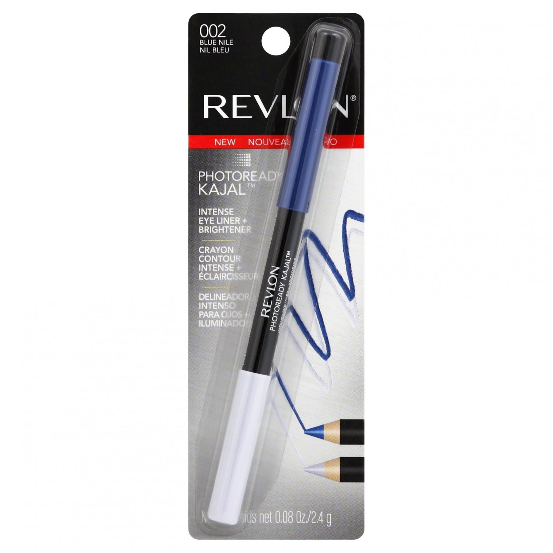 Revlon PhotoReady Kajal Intense Eye Liner + Brightener, 002 Blue Nile, 0.08 oz