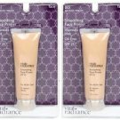 (2 Pack) Vital Radiance Soothing Face Primer, Apricot-Warm 001