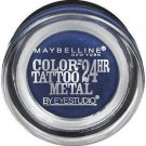 Maybelline Eye Studio Color Tattoo Metal 24 Hour Cream Gel Eyeshadow, 75 Electric Blue