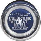 Maybelline New York Eye Studio Color Tattoo Metal 24 Hour Cream Gel Eyeshadow, 75 Electric Blue