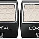 (2-Pack) L'Oreal Paris Wear Infinite Eye Shadow, 803 Seashell