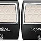 (2 Pack) L'Oreal Paris Wear Infinite Eye Shadow, 803 Seashell