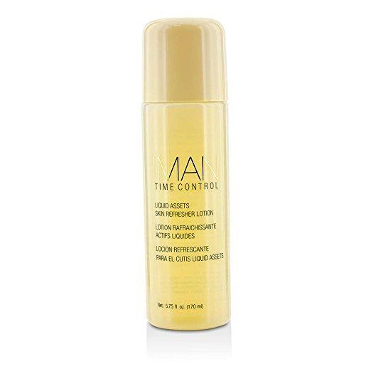 Iman Cosmetics Time Control Liquid Assets Skin Refresher Lotion, 6 oz