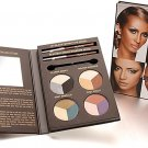 IMAN NIB EYE-CON COLLECTION 4 EYESHADOW TRIOS WITH EYE & BROW PENCIL PALETTE
