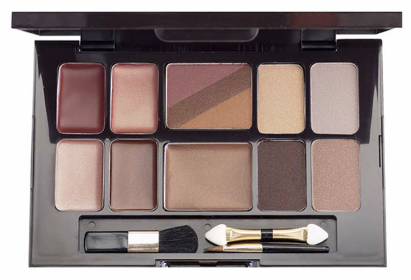 Iman St. Tropez Eyeshadow, Blush and Lipstick Makeup Kit