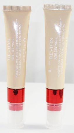 (2-Pack) Revlon Age Defying Targeted Dark Spot Concealer Treatment, Light Medium 02
