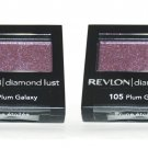 (2-Pack) Revlon Diamond Lust Eye Shadow 105 Plum Galaxy