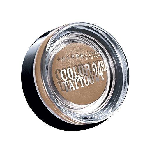 Maybelline New York Color Tattoo 24HR Gel-Cream Eyeshadow - 35 on and on Bronze