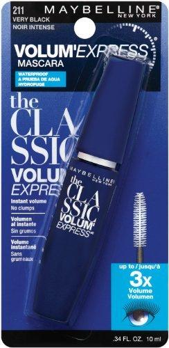 Maybelline Volume'Express 211 Very Black Mascara