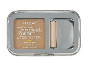 (2-pack)   L'Oreal Paris True Match Roller, W4 Natural Beige, 0.30 oz.