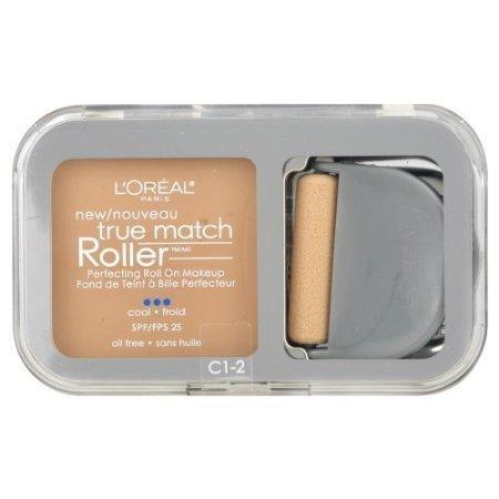 L'Oreal Paris True Match Roller, C1-2 Alabaster/Natural Ivory, 0.30 Ounce
