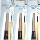 L'Oreal Telescopic Precision Liquid Eyeliner, Dark Brown (Pack of 3)