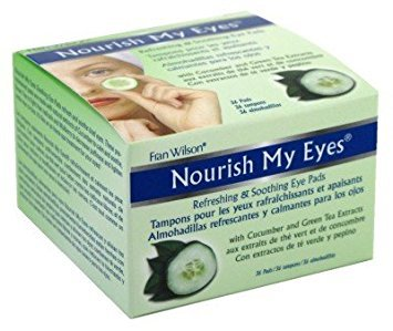 Fran Wilson Nourish My Eyes - Green Tea & Cucumber, 1 pack