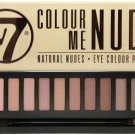 W7- Colour Me Nude: Natural Nudes Eye Colour Palette- 12 eyeshadow shades in 1