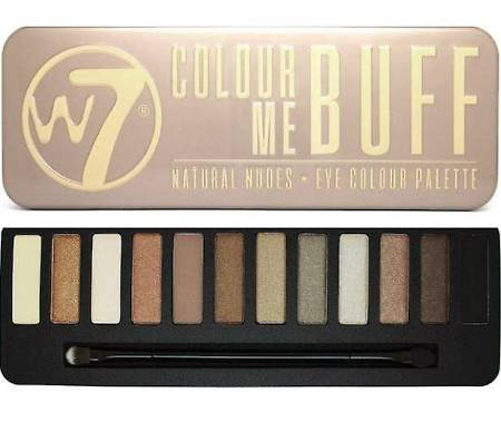 (2-PACK) W7- Colour Me Nude: Natural Nudes Eye Colour Palette- 12 shades in 1