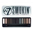 W7 Eye Shadow Colour Palette 15.6g (Smokin')  - 12 shades in 1