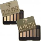 (2-PACK) W7 In The City & In The Mood Natural Nudes Eye Shadow Palette Set