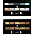 (SET OF 2) W7 COSMETICS 10 IN 1 PALETTE - 10 SHADES EACH
