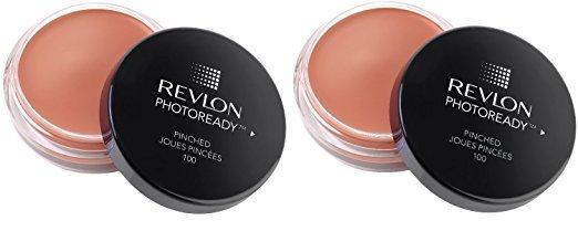 (2-PACK) Revlon Photoready Cream Blush, Pinched 100