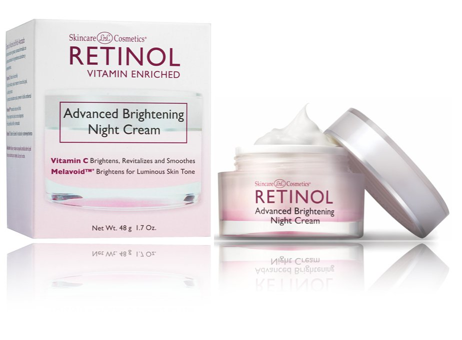 Retinol Advanced Brightening Night Cream, 1.7 Ounce
