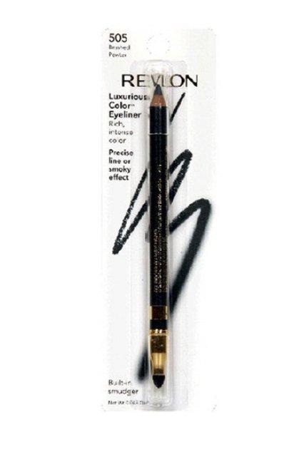 Revlon Luxurious Color Eyeliner, Brushed Pewter 505, .043 oz
