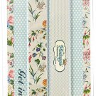 The Vintage Cosmetic Company Twin Pack Emery Boards, Floral
