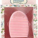 The Vintage Cosmetic Company Brush Cleaning Tool - Pink