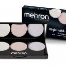 Mehron Makeup Highlight - 3 Pro Palette (Cool)