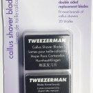 Tweezerman Replacement Callus Shaver Blades (20 Count)