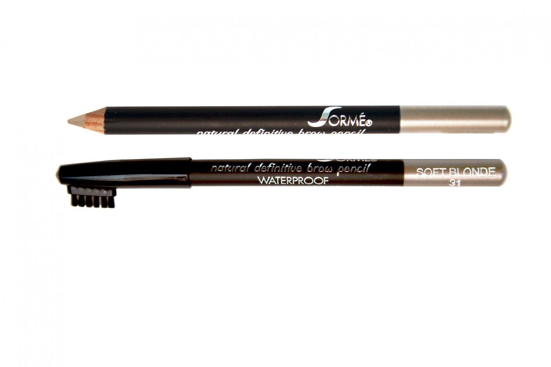 Sorme Cosmetics Waterproof Eyebrow Pencil, Soft Blond #31