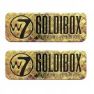 (2-Pack) W7 Goldibox and the 12 Shades Eye Colour Palette Tin