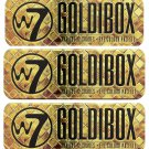 (3-Pack) W7 Goldibox and the 12 Shades Eye Colour Palette Tin