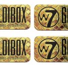 (4-Pack) W7 Goldibox and the 12 Shades Eye Colour Palette Tin