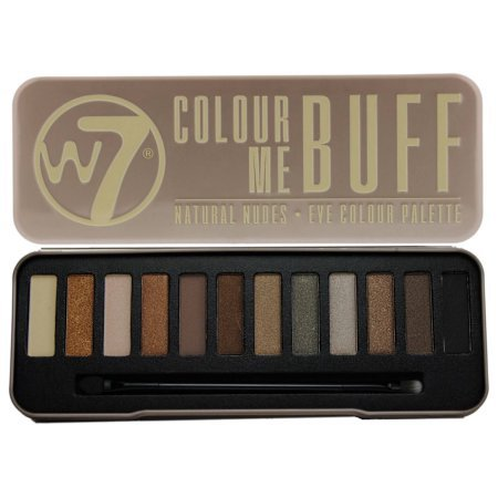 W7 In The Buff Natural Nudes Eye Colour Palette - 0.551 oz