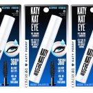 (3-Pack) CoverGirl Katy Kat Mascara, Katy Kat Eye, Waterproof, Very Black 825 - 10.5 ml