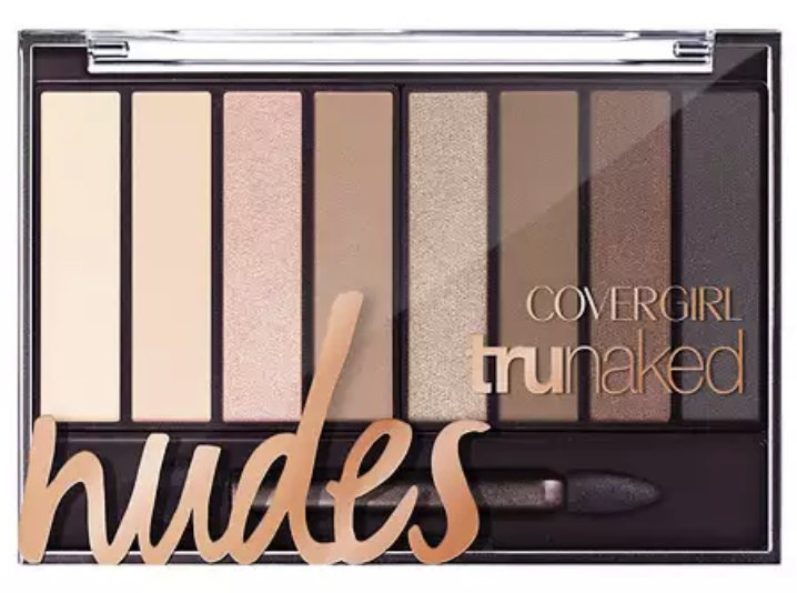 CoverGirl TruNaked Eye Shadow, Nudes 805 - 0.23 oz