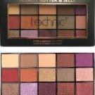 Technic X 15 Eyeshadow Palettes - Peanut Butter & Jelly