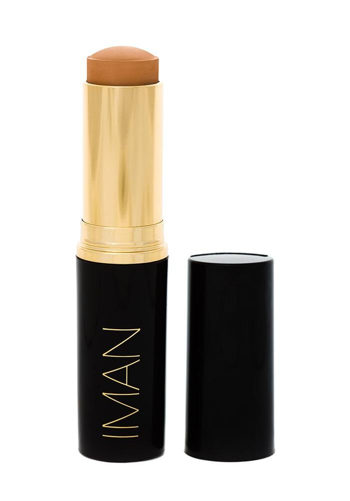 Iman Cosmetics Second To None Stick Foundation, Clay 1