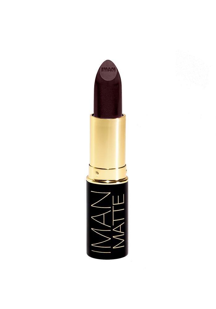 Iman Cosmetics Luxury Matte Lipstick, Obsession