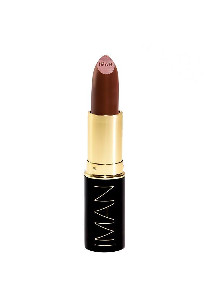 Iman Cosmetics Luxury Moisturizing Lipstick, Rebel, 0.13 oz