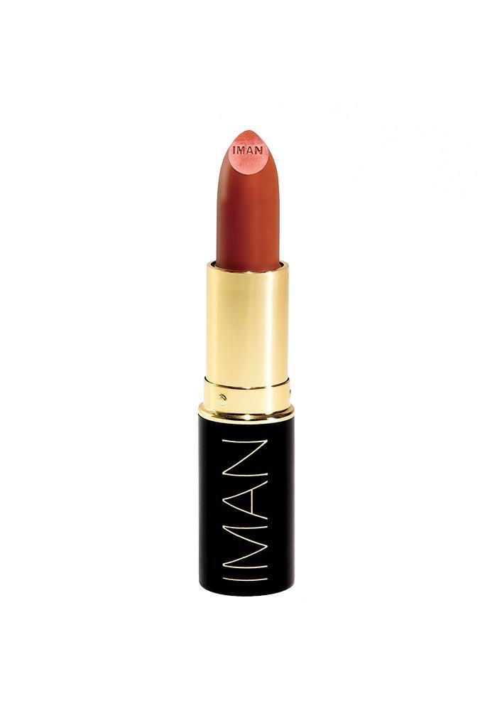 Iman Cosmetics Luxury Moisturizing Lipstick, Hipster, 0.13 oz