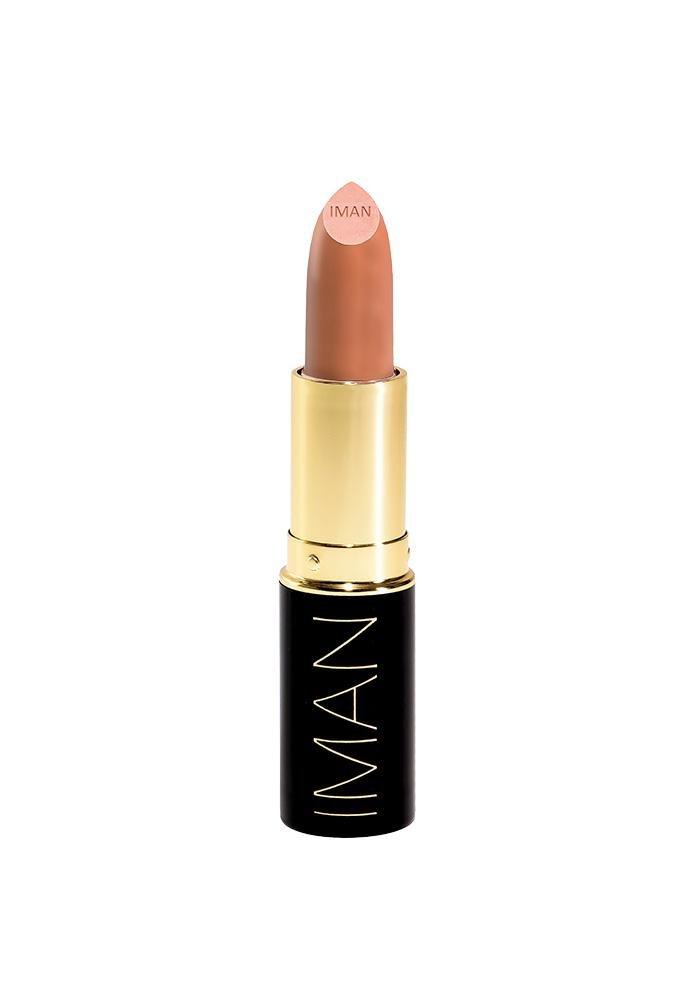 IMAN Cosmetics Moisturizing Lipstick, Iman Nude, 0.13 oz.