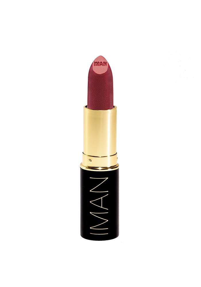 IMAN Cosmetics Moisturizing Lipstick, Scandalous, 0.13 oz.