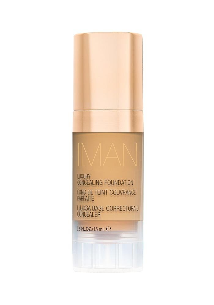 IMAN Cosmetics Concealing Foundation, Sand 3