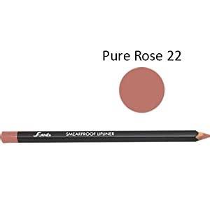 Sorme Waterproof Smear Proof Lip Liner, 22 Pure Rose, 0.06 Oz