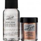 Mehron Metallic Powder with Mixing Liquid - Copper (129-ML-GD)
