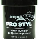 Ampro Pro Styl Styling Gel, Protein, Super Hold - 15 oz