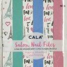 CALA Salon NAIL FILES, Paris (6PCS) (70109)